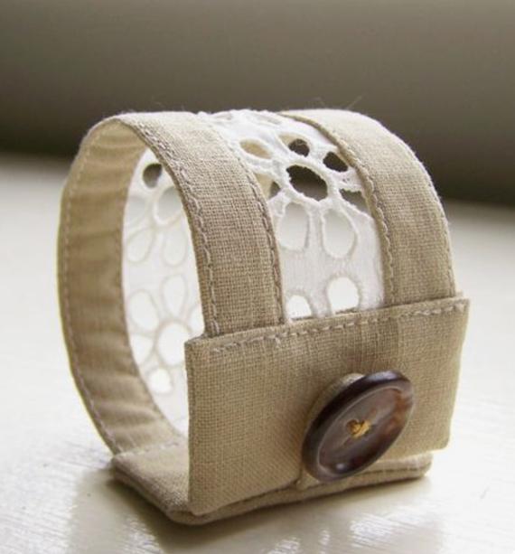 Cream-Fabric-and-Lace-Fabric-Cuff