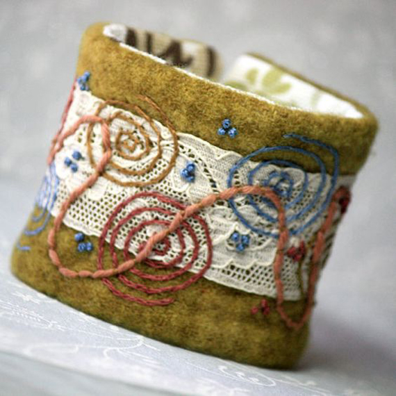 Embrodiered-Beaded-Wool-Fabric-Cuff