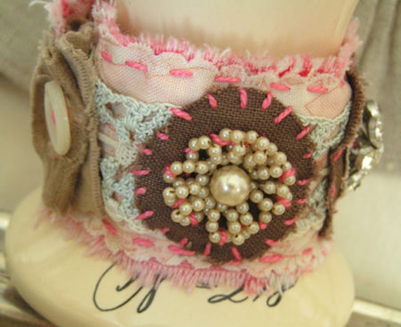 Embroidered-Fabric-Cuff-Bracelet