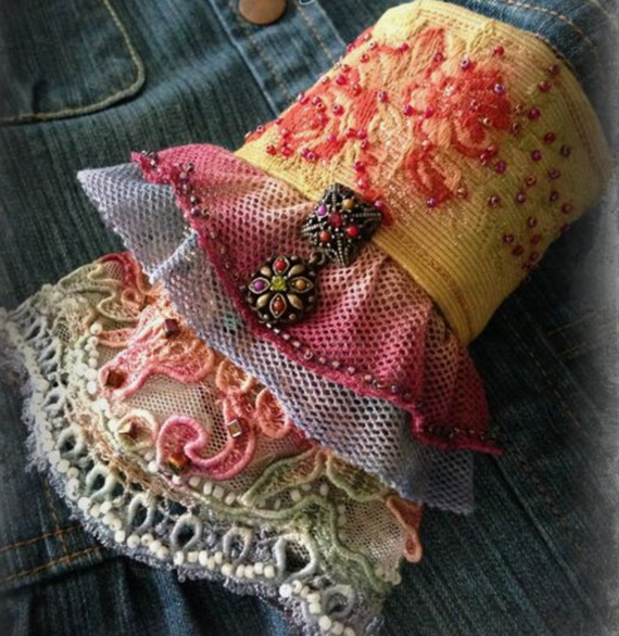 Embroidered-Fabric-Cuff-Sleeve
