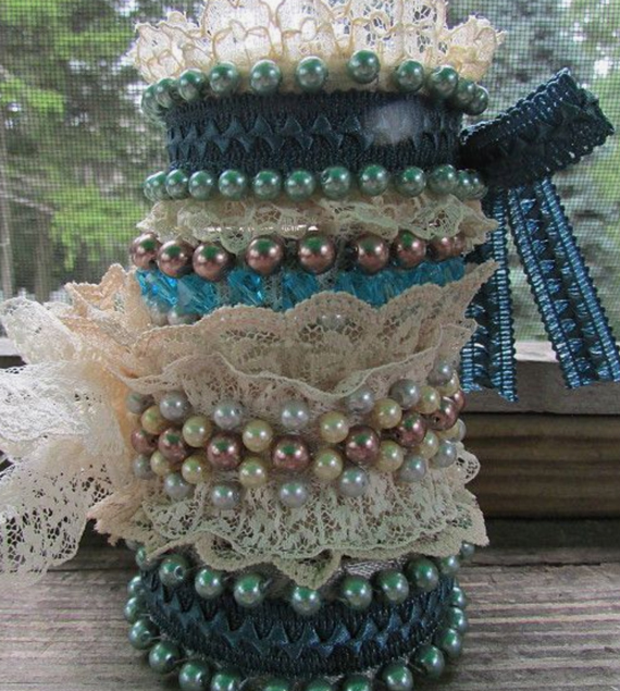 Pearl-and-Lace-Fabric-Cuff-Bracelet