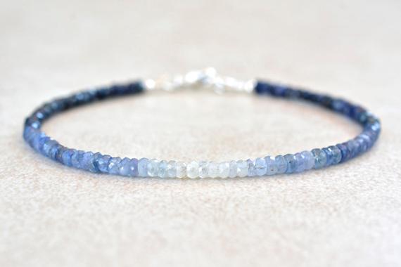 Sapphire-Beaded-Birthstone-Bracelet