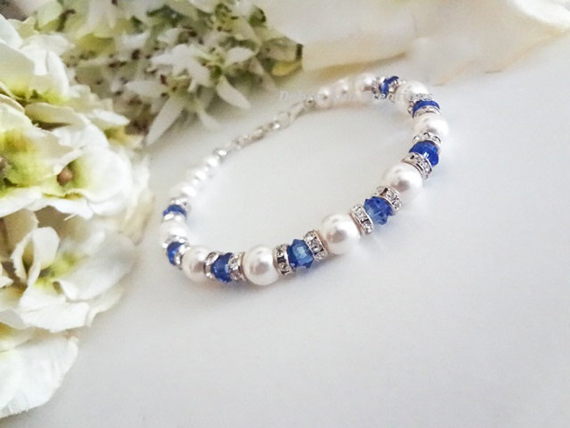 Sapphire-and-Pearl-Beaded-Bracelet