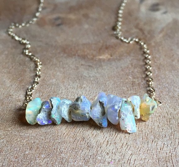Opal-Chip-Bar-Beaded-Necklace