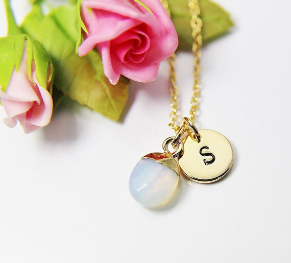 Opal-Pendant-and-Hanging-Charm-Birthstone-Necklace