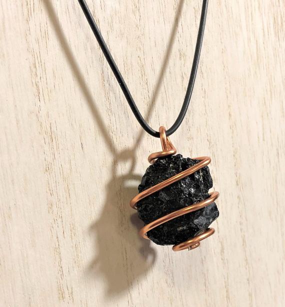 Raw-Tourmaline-Wire-Wrapped-Birthstone-Necklace